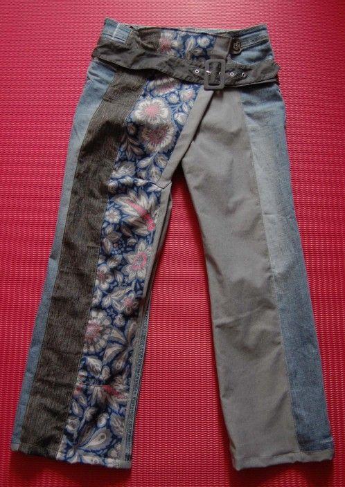 Faites transformer un de vos jean en pantalon sarouel | Chèresloques, créateur de vêtements