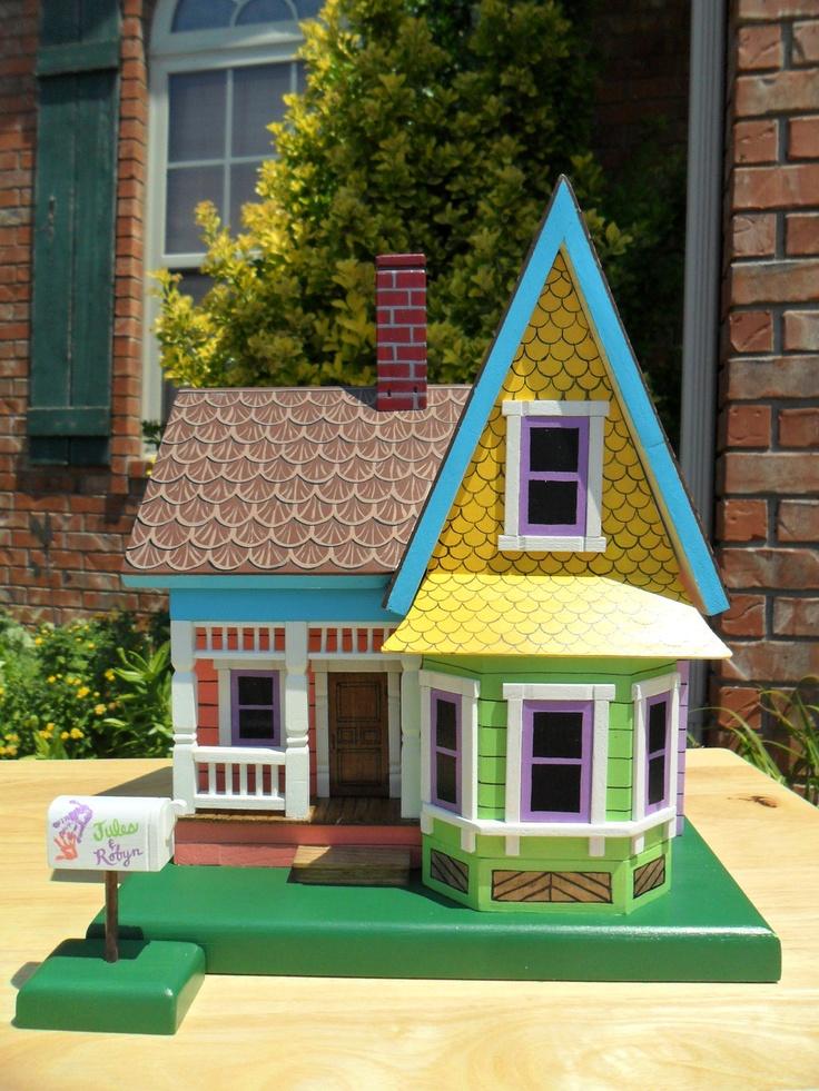 Miniature Disney Up House Themed Keepsake Box