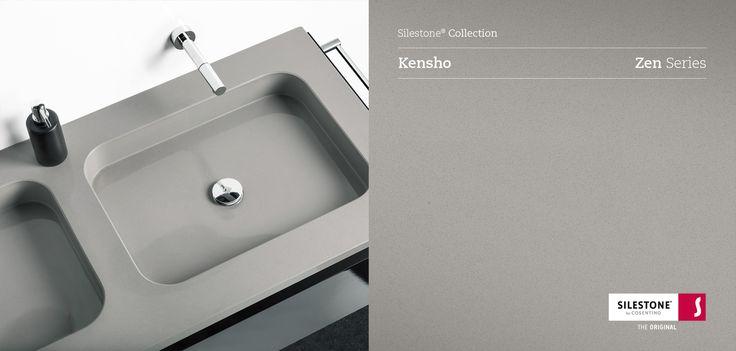 Silestone kensho silestone collection pinterest bath - Witte quartz werkblad ...
