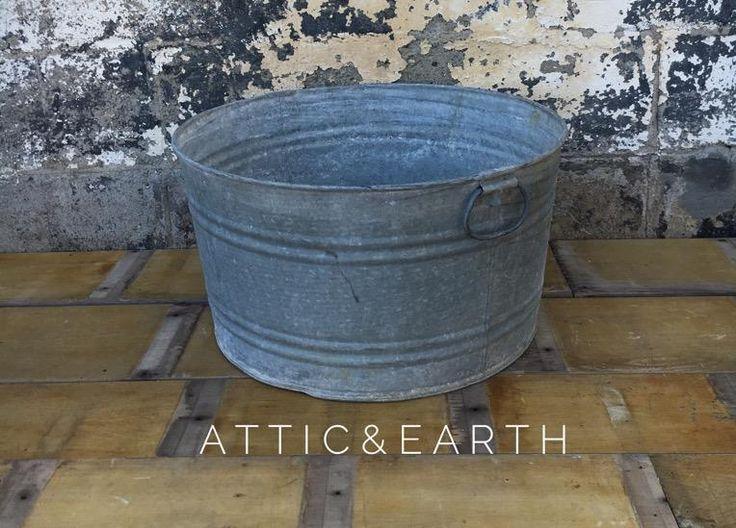 Metal Wash Tub
