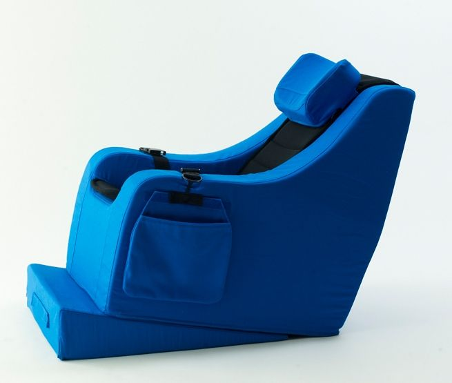 """The Gravity Chair or """"Chill Chair"""" is a very supportive foam positioning system to augment postural control for a wide range of individuals."""