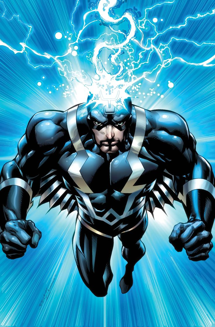 marvel black bolt was the son of Agon