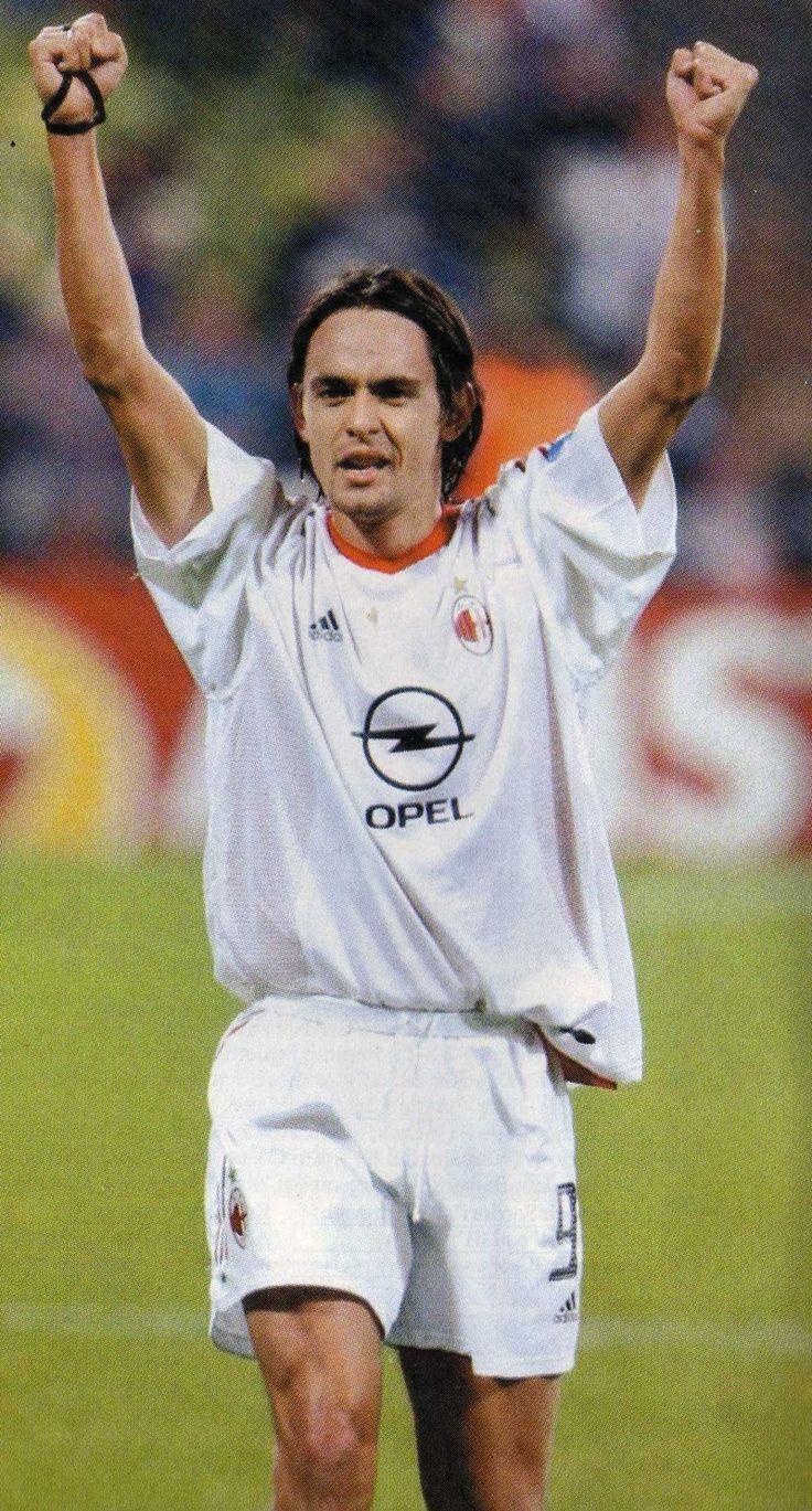 AC Milan away.  2002 - 2003.  Inzaghi, Rivaldo, Schevchenko et al.