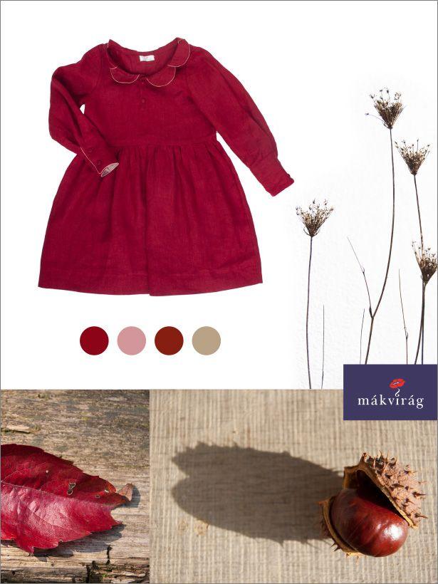 Mákvirág — Autumn colours: deep red