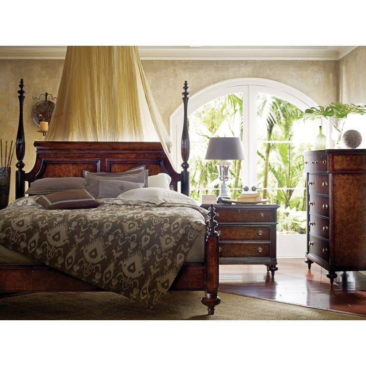British Colonial Poster Bed   The Quality Detailing And Traditional Style  Of The British Colonial Poster Bed Adds A Striking Look To Any Bedroom.