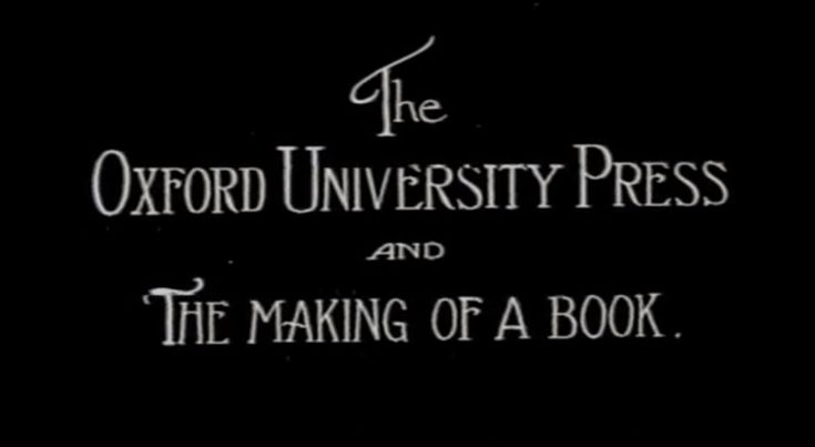 Vintage Film Shows How the Oxford English Dictionary Was Made in 1925History Silentfilm, Silent Film, Oxfords Universe, Oxfords Archives, Book, Letterpresses Videos, Oxfords English Dictionary, Vintage Film, 1925