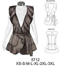 patrones de blusas modernas                                                                                                                                                                                 Más