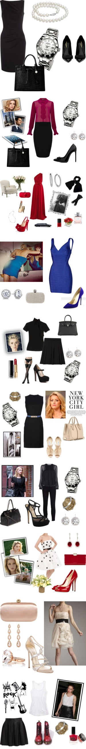 """""""Eva Tramell's closet - Bared to you (Crossfire Trilogy)"""" by fiftycross on Polyvore"""