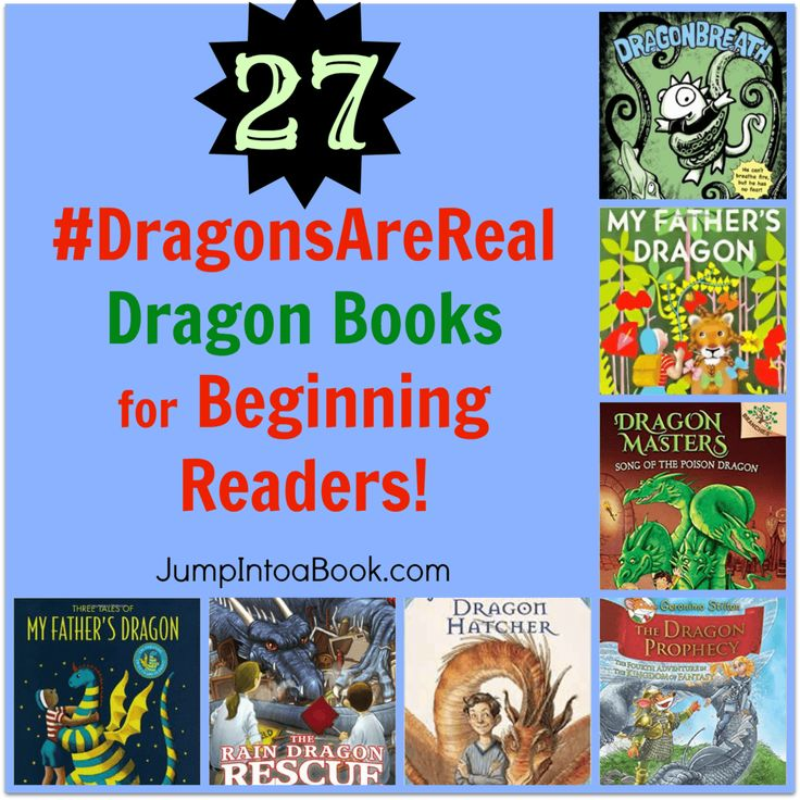 What if I told you that Dragons are real? Discover the truth in this Dragon-themed booklist for beginning and early readers.