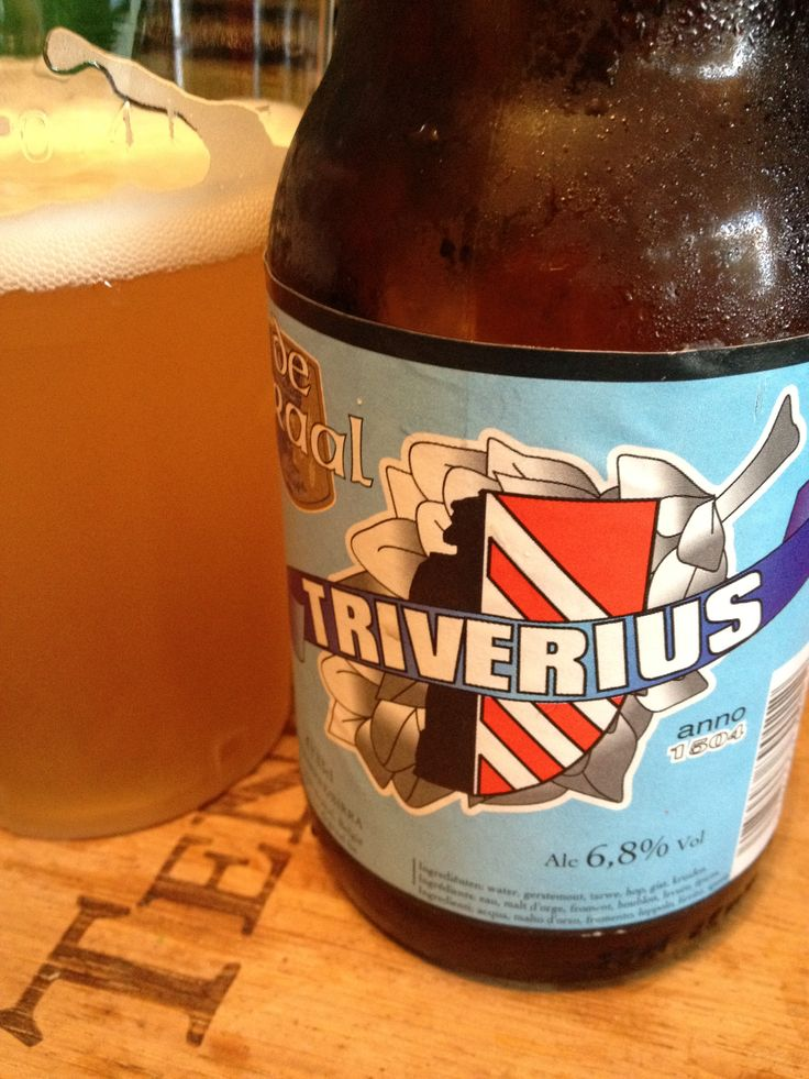 Triverius 500 Brewed by De Graal Style: Belgian White (Witbier) Brakel, Belgium