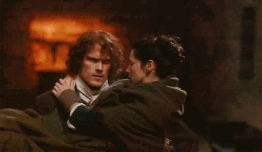 """Do it!"" I said urgently. ""Dougal is right, it's the only chance!"" He looked down at me helplessly, rage and fear mingled on his face. And under it all, a trace of humor at the underlying irony of the situation. ""I am a sassenach, after all,"" I said, seeing it. He touched my face briefly with a rueful smile. ""Aye, mo duinne. But you're my sassenach."" He turned to Dougal, squaring his shoulders. He drew in a deep breath, and nodded. ""All right. Tell them we took her""—he thought quickly, rubb"