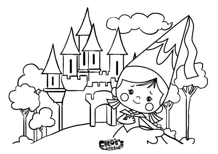 Prinses Chloe bij het toverkasteel! #Chloestoverkast #toverkast