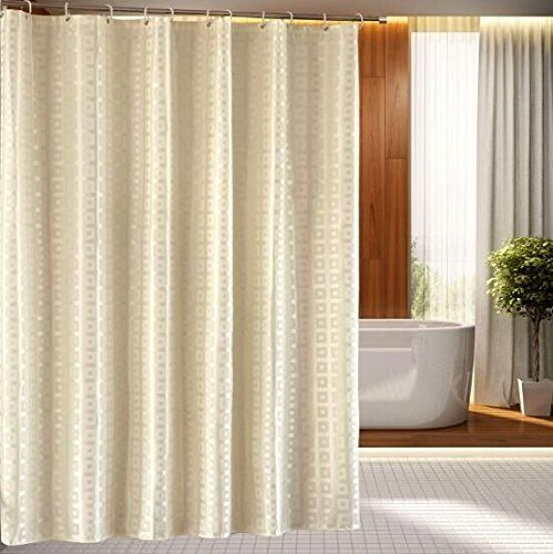 17 Best images about SHOWER CURTAINS-White & Gold (metallic) on ...