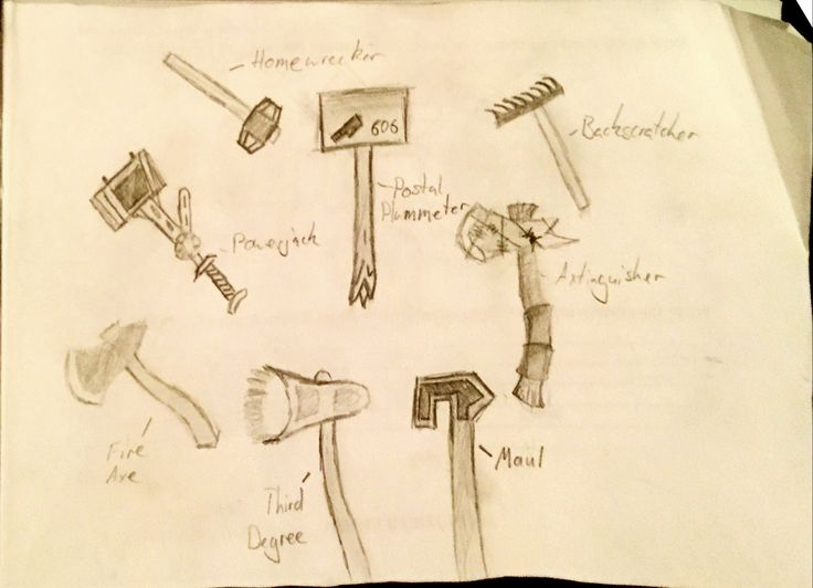 Had an orientation day that I had already been to twice so I tried to draw some tf2 melees from memory #games #teamfortress2 #steam #tf2 #SteamNewRelease #gaming #Valve