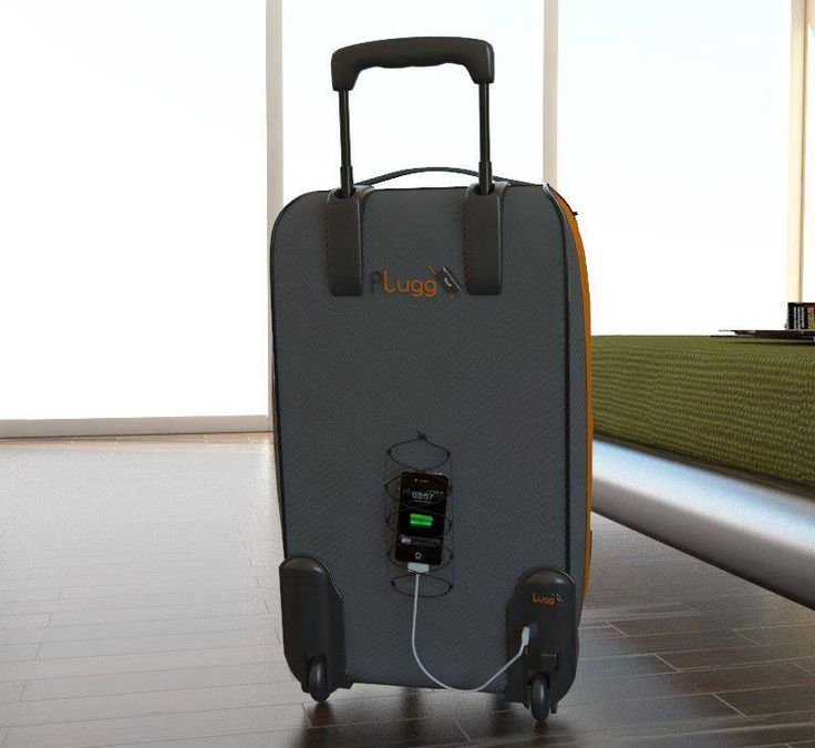 Idea from our fans Plugg #battery #charger #kickstarter #luggage #product #design #invention #gadget #travel www.p-lugg.com
