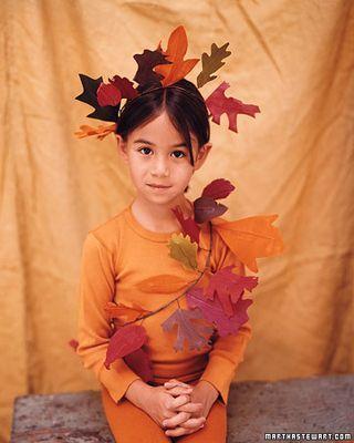 Autunno costumi per bambini