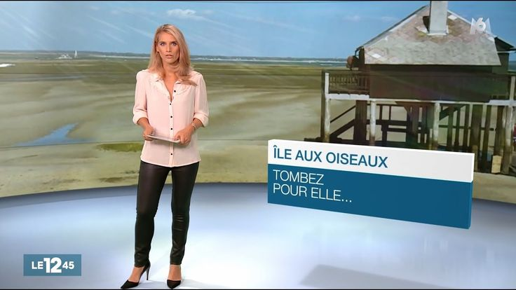 Laurie Desorgher French Presenter Leather Pants