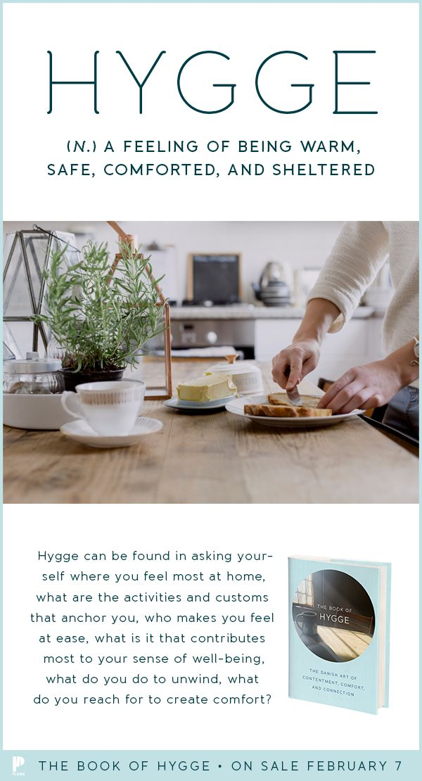 Hygge may be a Danish word, but it is a universal feeling. Find your own path to hygge with The Book of Hygge.