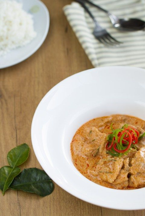 Curry panang con cerdoL
