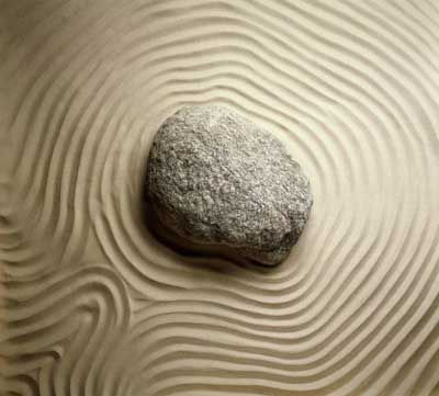 Zen Gardens were intended to imitate the intimate essence of nature, not its actual appearance, and to serve an aid to meditation about the true meaning of life.