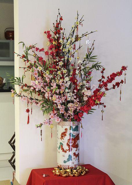 chinese flower arrangement - photo #35