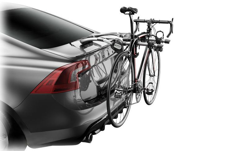 Load up the Allen Sports Deluxe Trunk Mount 2 #Bike Rack and head to the hills with a friend