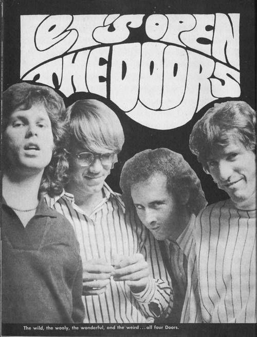 The Doors Rock poster