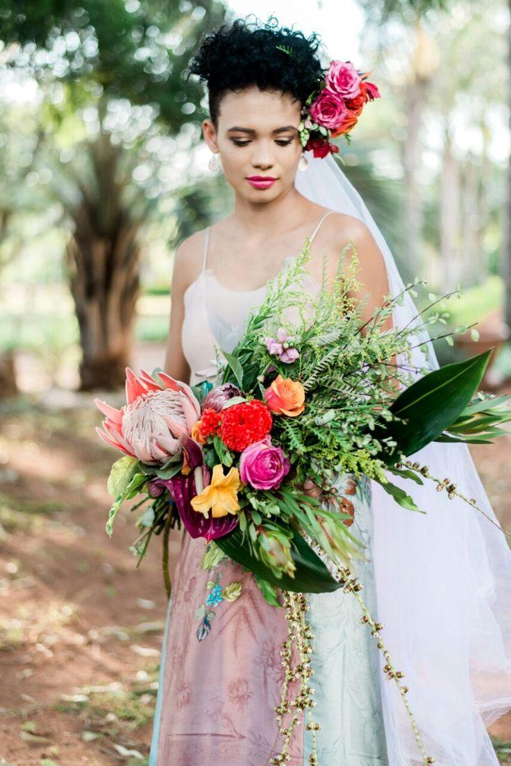 Tropical Safari Styled Wedding