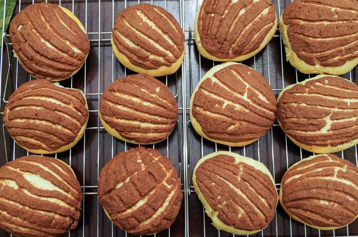 Chocolate Conchas (Mexican Chocolate Shell Pastries