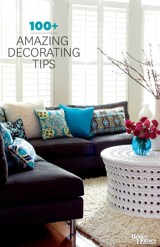 We have the best home decorating ideas, do-it-yourself projects, paint-color help, window treatment tips, and small-space solutions for your bedroom, bathroom, and living room. Browse hundreds of photos that showcase amazing /
