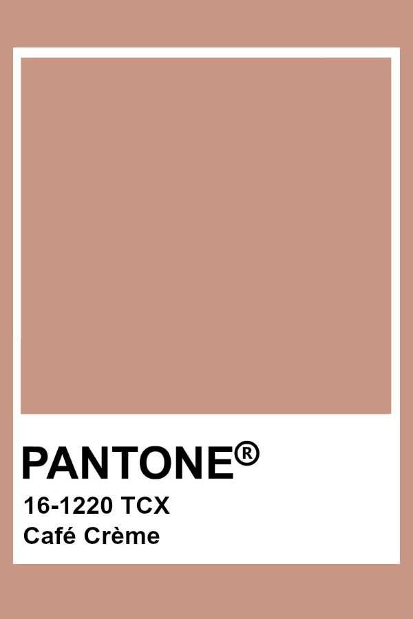 Pantone Café Crème | Pantone, Couleur pantone, Peinture crème