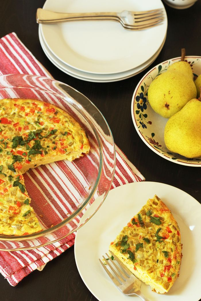 Southwestern Oven Omelet Recipe from Good Cheap Eats