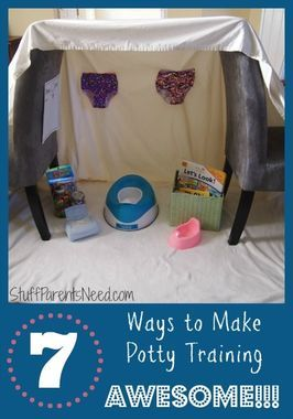 Build a Potty Palace and 10 other creative hacks to make potty training easier!