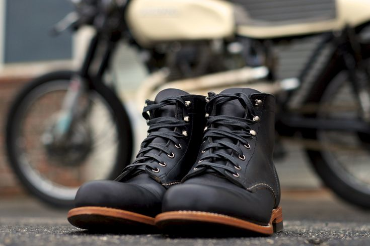 Wolverine 1000 Mile Boots + Cafe Bike.