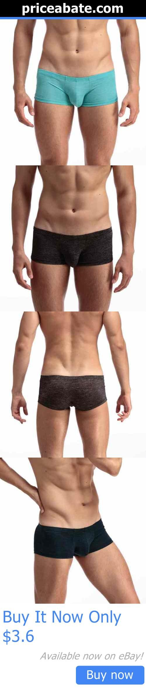 Man Underwear: Mens Underwear Boxer Briefs Cotton Bulge Pouch Trunks Shorts Underpants Pants BUY IT NOW ONLY: $3.6 #priceabateManUnderwear OR #priceabate