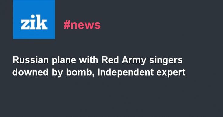 #world #news  Russian plane with Red Army singers downed by bomb, independent…  #FreeKlyh #FreeUkraine @realDonaldTrump @thebloggerspost