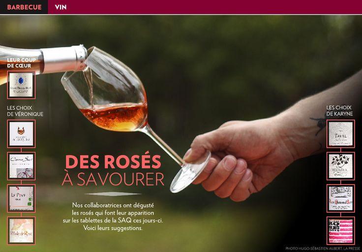 Des rosés à savourer - La Presse+