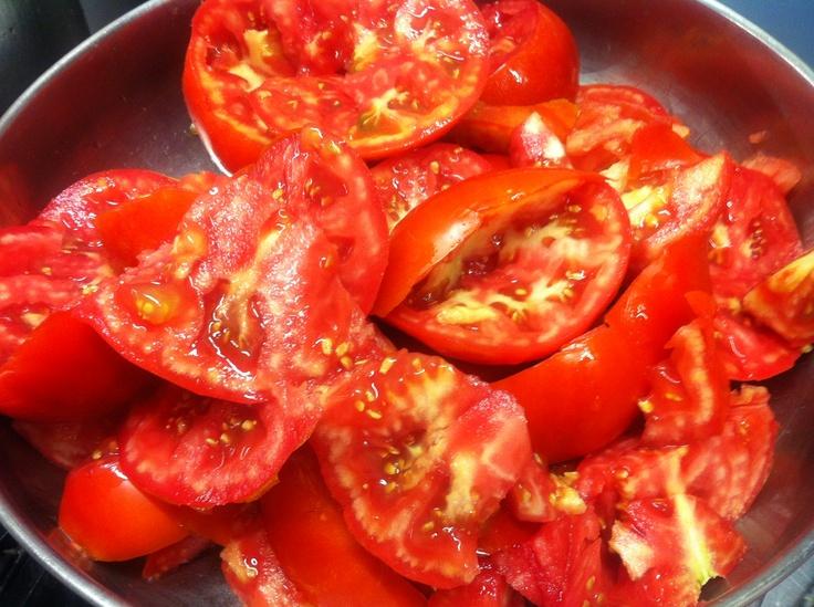 tomates para hacer helado de trampó