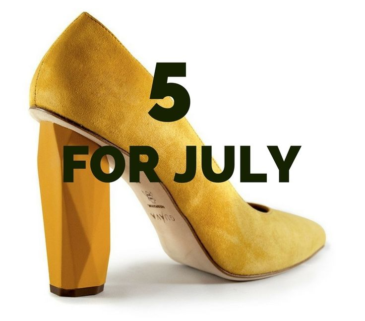 We've picked 5 products that fits July perfectly #sustainableluxury #takefashionback