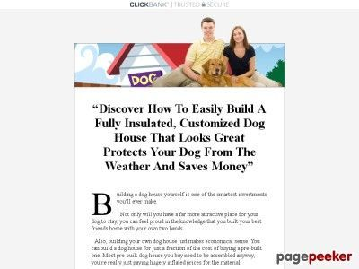 Clickbank Products  How To Build A Dog House  Insulated Dog House Plans Find