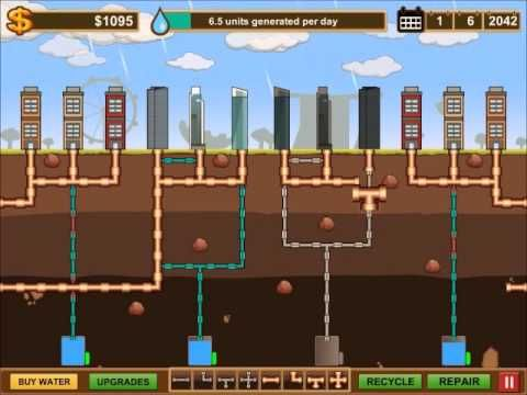"""Pipe City"" a 2D pipe simulation game based on Singapore's' water needs made by our Diploma in Game Development Students. The game actually challenges the player to  build better pipe networks and manage resources by taking control of the water system to achieve self-sustenance."