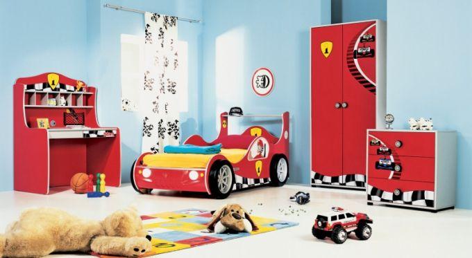 Dětský pokoj pro malé akční hrdiny