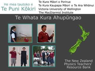 Te Reo Maori Physics Project   New Zealand Physics Teachers' Resource Bank