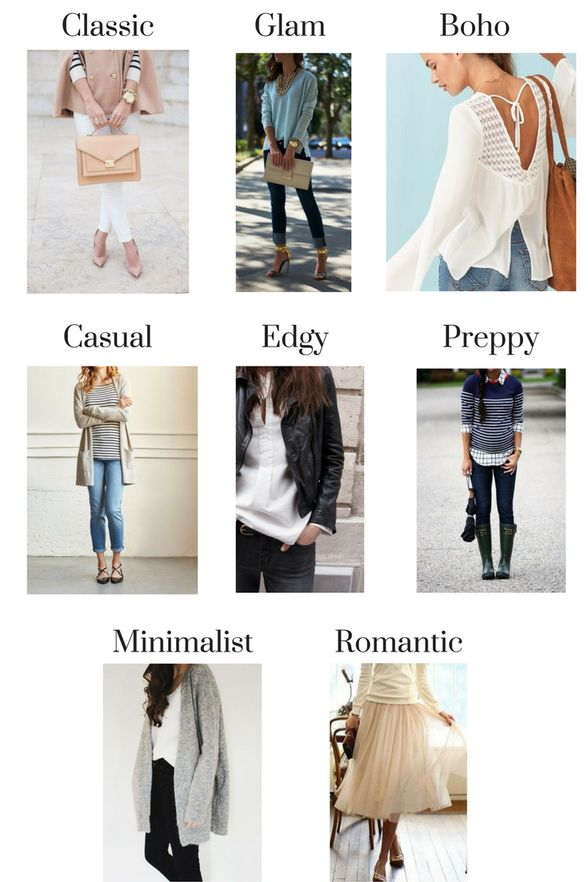 1000 Ideas About Types Of Fashion Styles On Pinterest