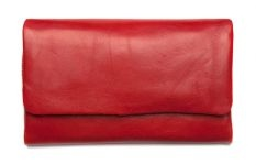 AUDREY / red wallet