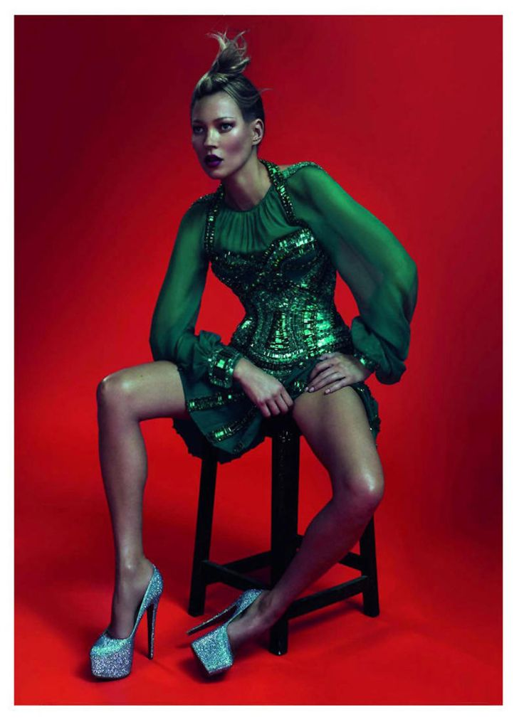 Kate Moss : Vogue Paris May 2011 : Mert & Marcus