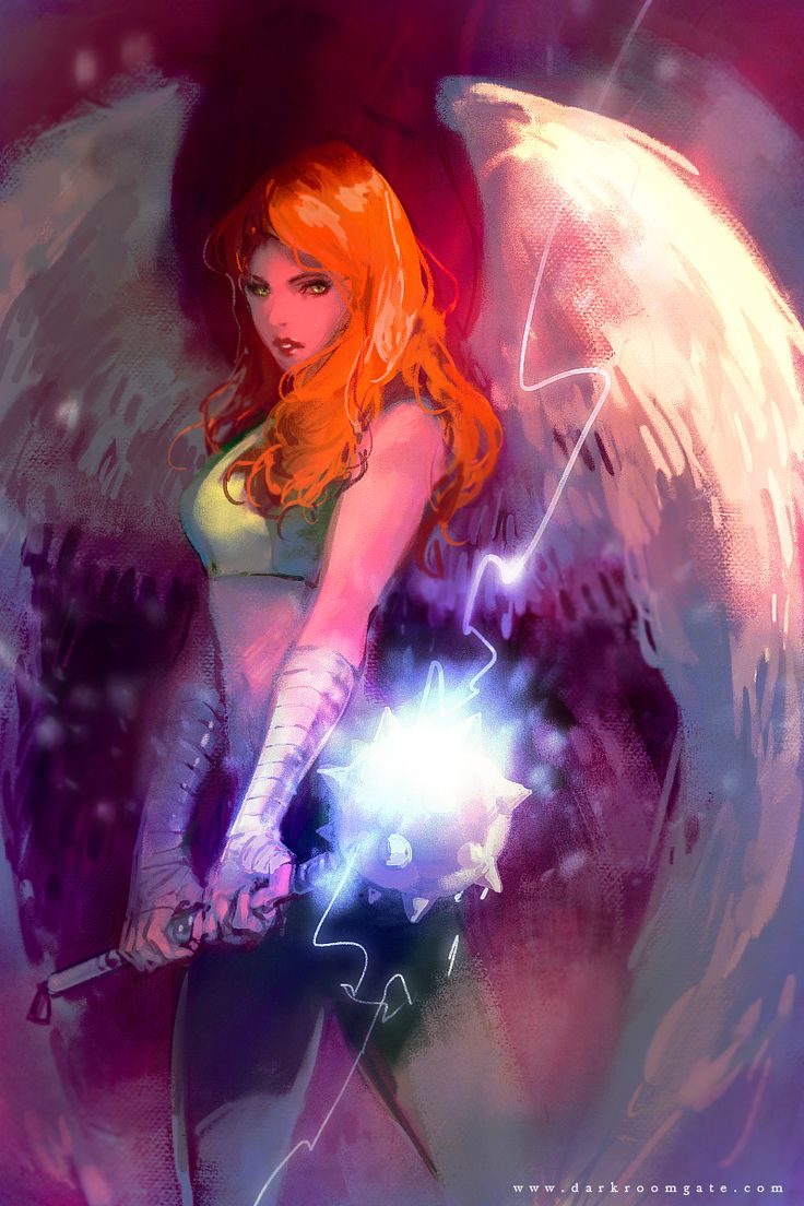 Hawkgirl by 望月海凝(Hai-ning)....wow...this is really nice.