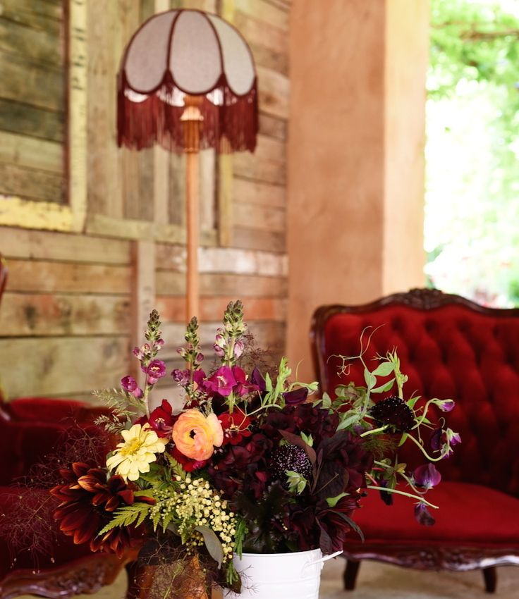 November Bouquet, Al Ru Farm, Burgundy, Tulips, Zinnias, Snapdragon, Sweet Peas, Fern, Mintymarypea Events