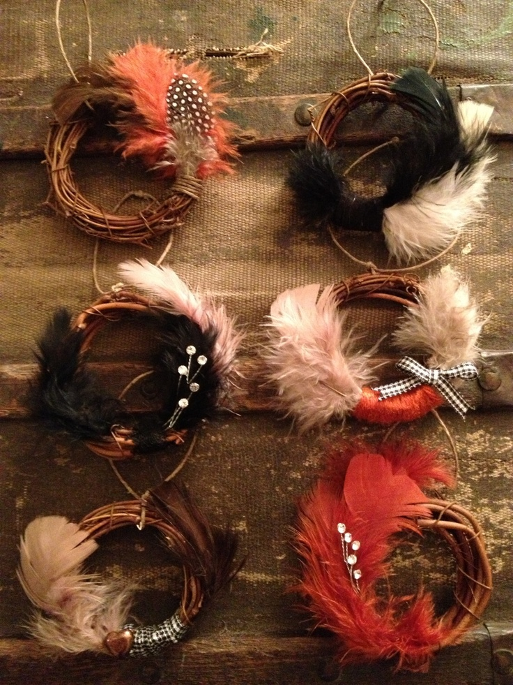 Feather Wreaths