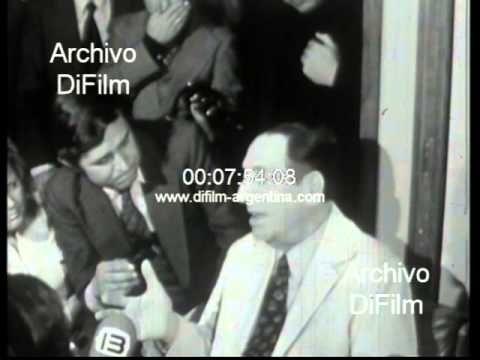 DiFilm - Inedito: Juan Peron habla a horas de las elecciones 1973